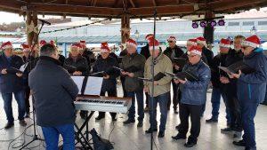 Auftritt auf dem Weihnachtsmarkt in Geltow 2019